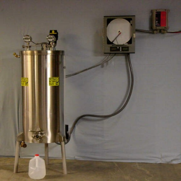 30 gallon Cheese Vat & Pasteurizer In One