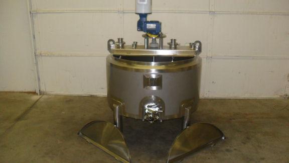 50 gallon Open Top Batch Pasteurizer